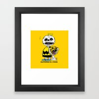 Happiness Is A Tiger Framed Art Print
