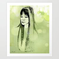 Eastern Princess Art Print