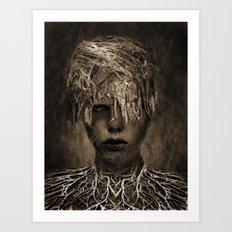 Ina Art Print