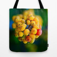 In the shape of  a heart.  Tote Bag