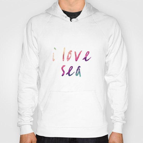 sea colors Hoody
