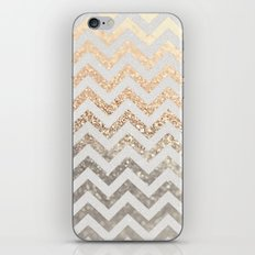 GOLD & SILVER  iPhone & iPod Skin
