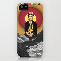 iPhone Cases featuring FRIDA by Estera Lazowska