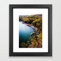 take me to wonderland. Framed Art Print