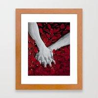 Hands Framed Art Print