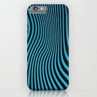 Stripes In Blue iPhone 6 Slim Case