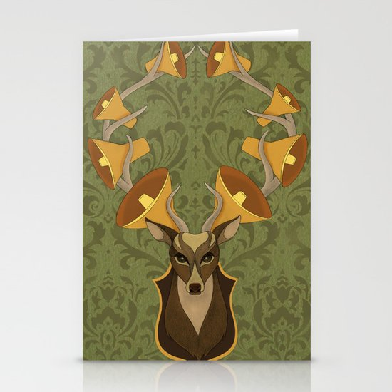 Horns Stationery Card