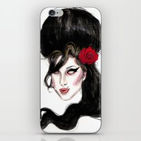 Amy W / Quote  iPhone & iPod Skin