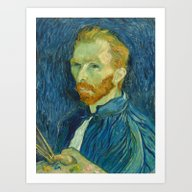 Art Print featuring Van Gogh by Palazzo Art Gallery