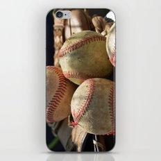 Baseballs and Glove iPhone & iPod Skin