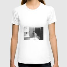 Rendez-vous#03 Womens Fitted Tee White SMALL