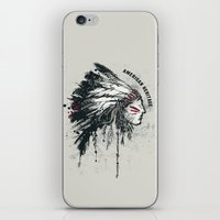 American Heritage (White) iPhone & iPod Skin