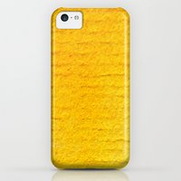iPhone Cases featuring Yellow Watercolor by The Wellington Boot