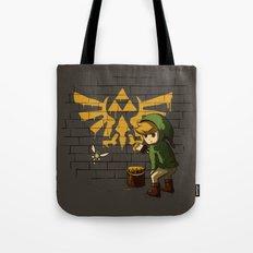 Link Banksy Tote Bag
