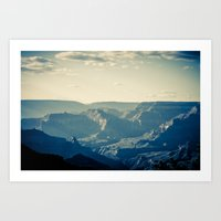 Grand Canyon in April Art Print
