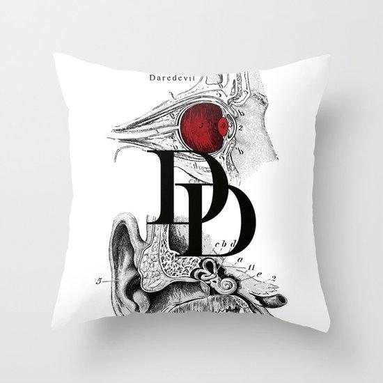 Etude - Daredevil Throw Pillow