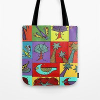 Quilt Blocks Tote Bag