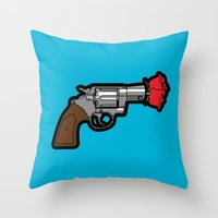 Pop Icon - Banksy Throw Pillow