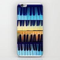 piano2 iPhone & iPod Skin