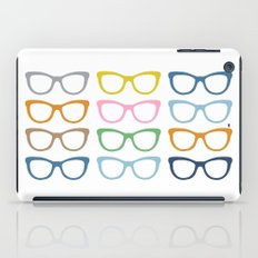 Glasses #3 iPad Case