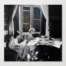 universal reading room Canvas Print