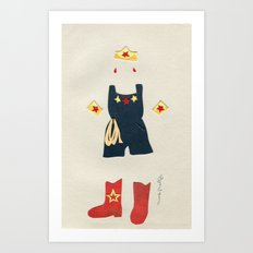 Outfit for Wonder Woman, 1 Art Print