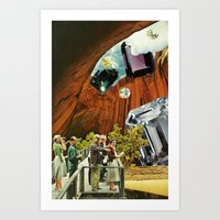 Tourism Art Print