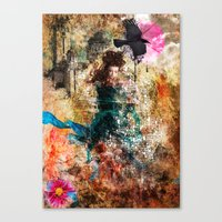 Fairy Painting Canvas Print