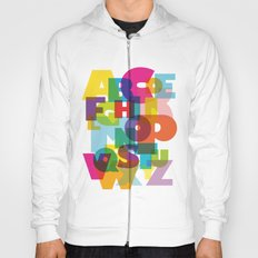 ABC in colour Hoody