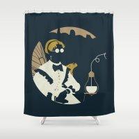 Junction Fae — Alchemist Shower Curtain