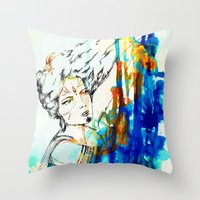 Tribal Beauty 4 Throw Pillow