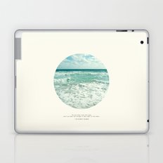 Christopher Columbus Quote Laptop & iPad Skin