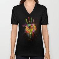 Artist Hand (1) Unisex V-Neck