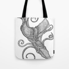 Whale Vs. Squid Tote Bag