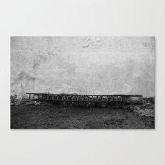 horizontal climb Canvas Print