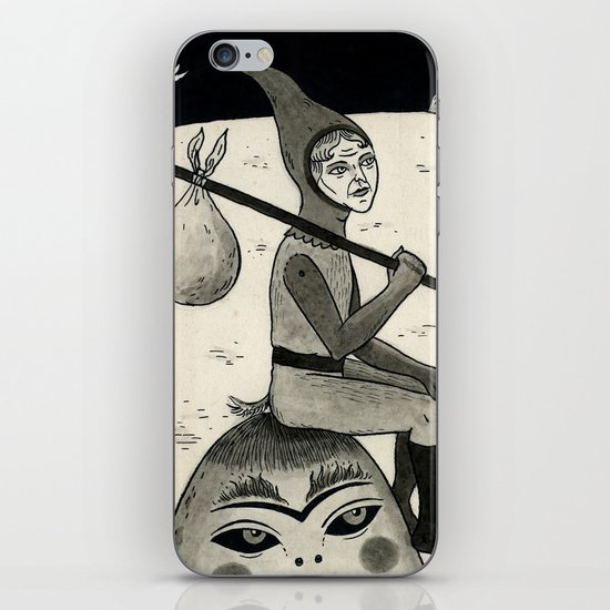 Weary Vagabond  iPhone & iPod Skin