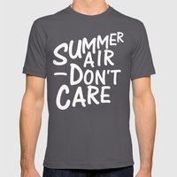 Summer Air Mens Fitted Tee Asphalt SMALL