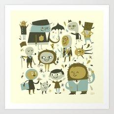 Make Friends Art Print