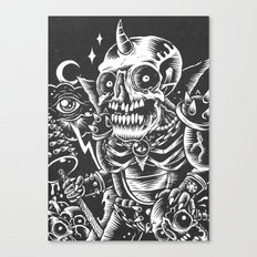 Skullhunter Overlord Canvas Print