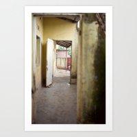 enter::rwanda Art Print