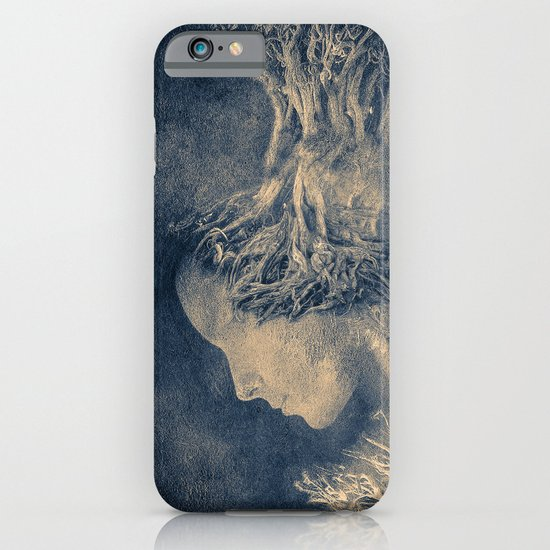 Dark portrait II  (colour option) iPhone & iPod Case