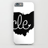 iPhone & iPod Case featuring Love Cleveland by anastasia5