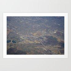 GEOgraphy IX Art Print