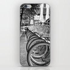 Bike Rack in Dublin iPhone & iPod Skin