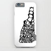 Typographic New Hampshir… iPhone 6 Slim Case