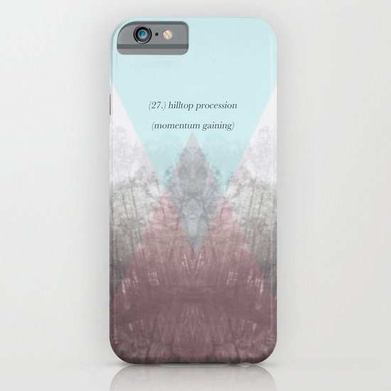 Hilltop Procession (ANALOG zine) iPhone & iPod Case
