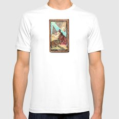 double jesus White SMALL Mens Fitted Tee