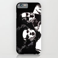 iPhone & iPod Case featuring Dr Frankenstein and the Bride of the Monster by Zombie Rust