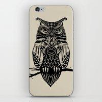 Owl of Cairo iPhone & iPod Skin