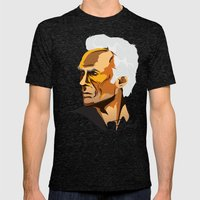 Eastwood Mens Fitted Tee Tri-Black SMALL